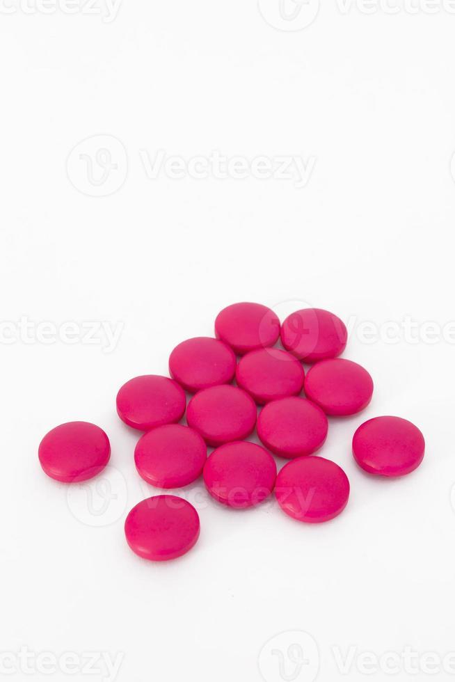 roze medicijn foto