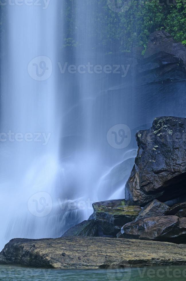 waterval in de jungle foto