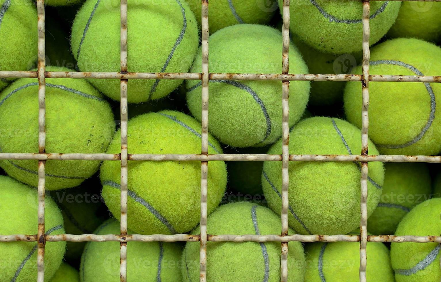 oude tennisbal foto