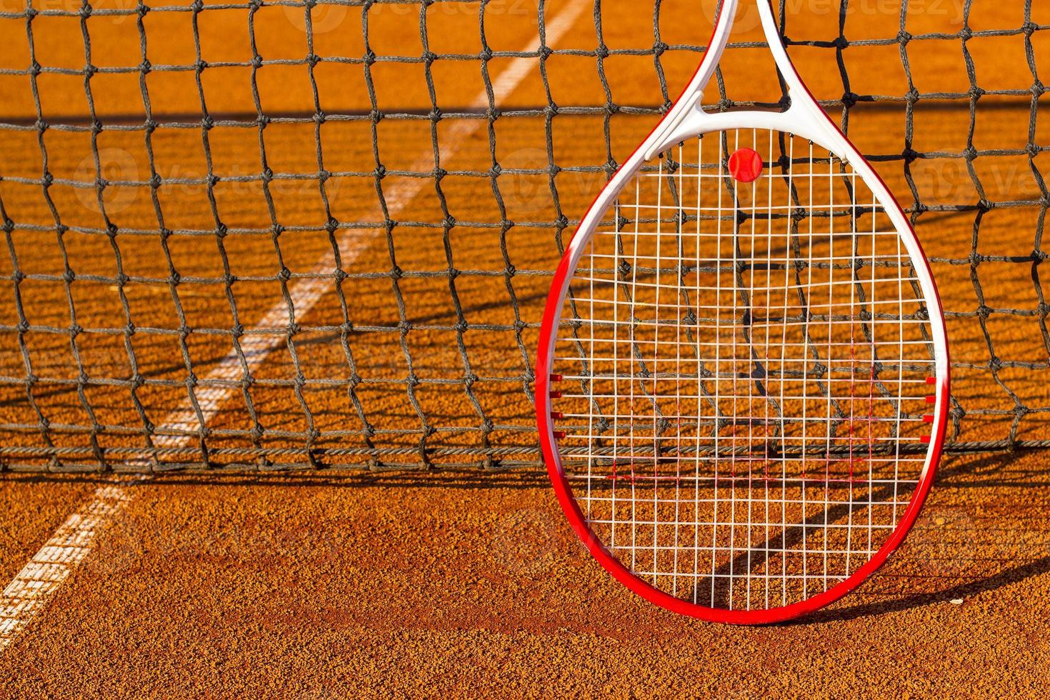 tennisracket foto