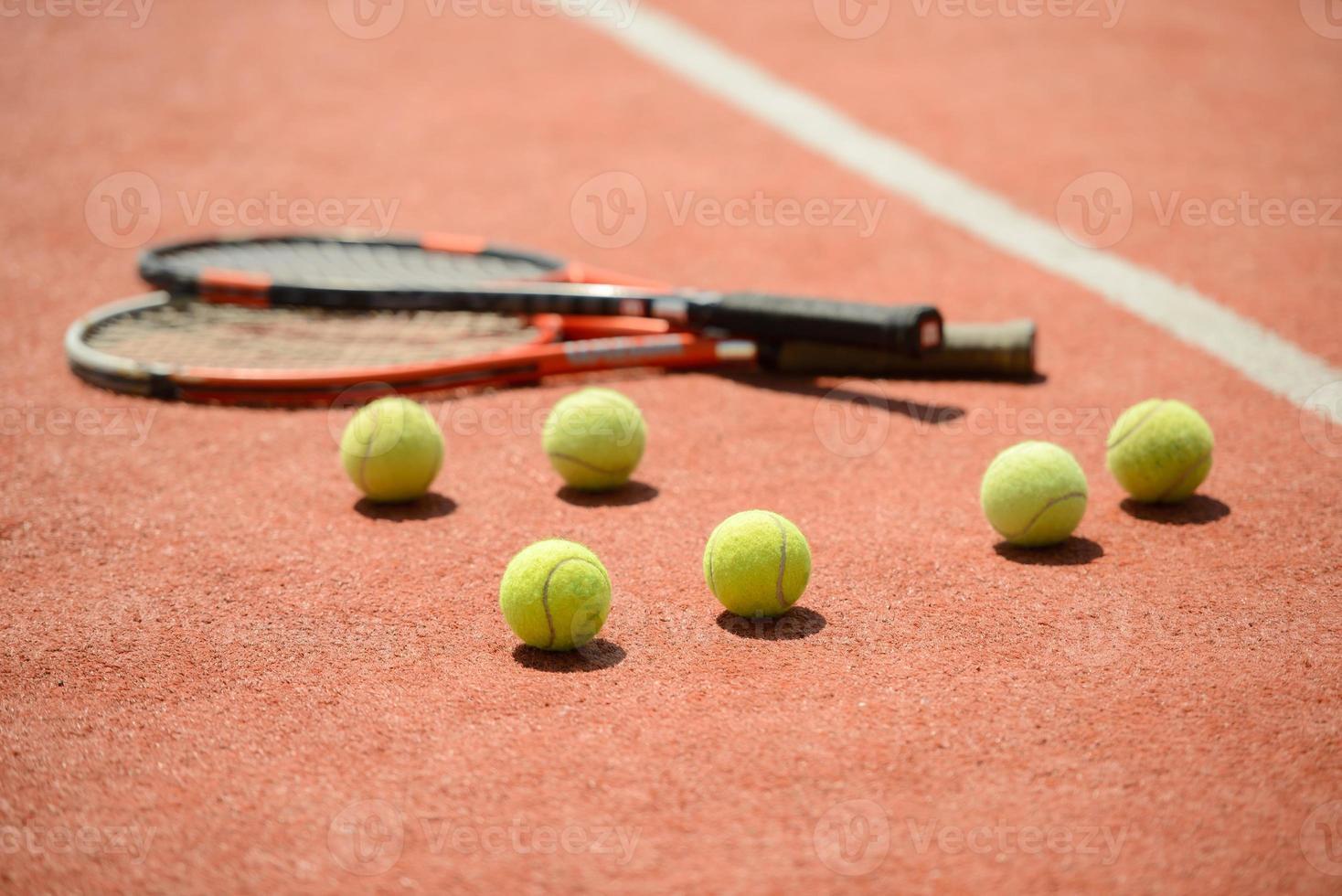 tennisbaan foto