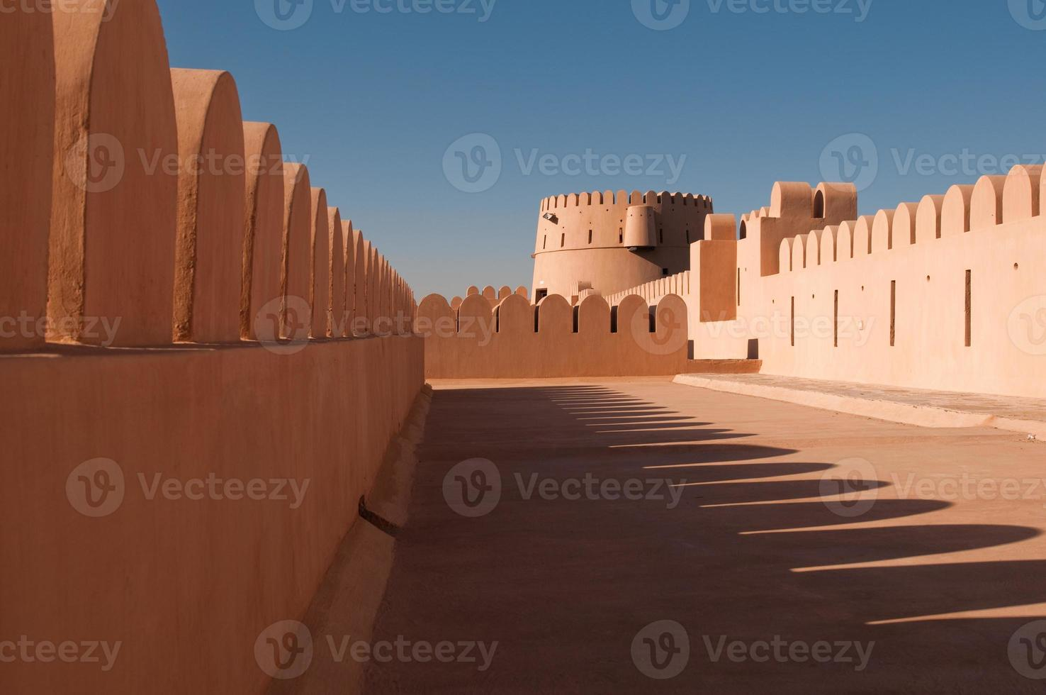 fort in de woestijn foto