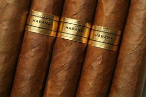 Havana sigaren textuur foto