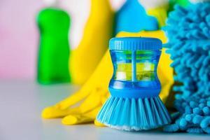 levendig schoonmaakconcept foto