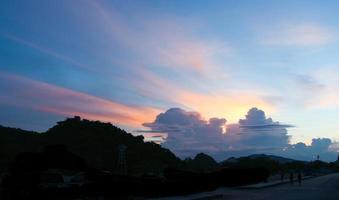 lucht en cloud foto