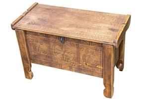 houten koffer foto