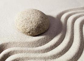 concentratie voor zen-progressie foto