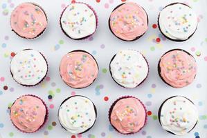 cupcake feestje foto