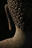 boeddha abstract, borobudur foto