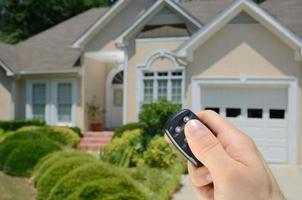 huisalarm met afstandsbediening foto