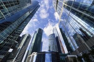 wolkenkrabbers zakelijke kantoren foto