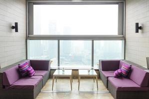 moderne kantoor lobby kamer foto