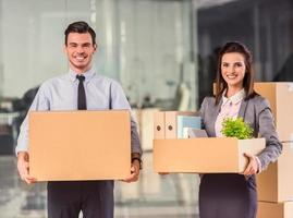 bedrijf verhuizen in functie foto