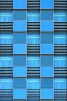 ramen van modern kantoorgebouw foto