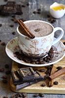 koffie chocolade advocaat. foto