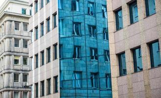 gebouwen in Warschau foto