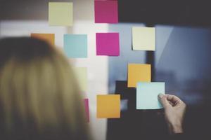 informatie herinnering memo office aankondiging concept foto