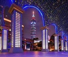 Taipei stadsgezicht