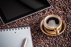 koffiepauze foto
