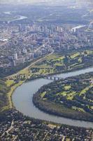 het centrum van Edmonton foto