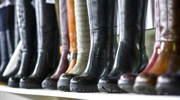 vrouwen laarzen foto
