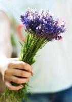 boeket lavendel foto