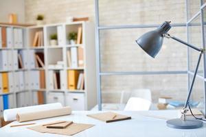 werkplaats van architect foto