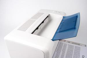 moderne laserjetprinter foto