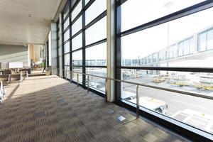 luchthaven gang interieur foto
