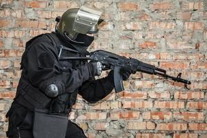 speciale krachten operator foto
