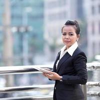 zakelijke vrouw portret foto