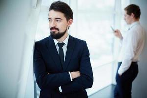 kalme zakenman foto