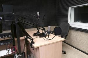 radio studio foto