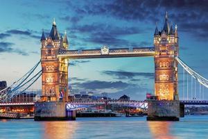 Tower Bridge in Londen, Verenigd Koninkrijk foto