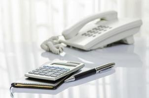 telefoon en persoonlijke organisator foto