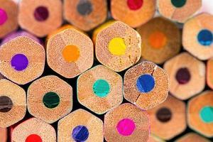 kleurpotloden. foto