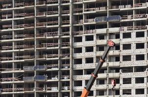 constructie gebouw foto