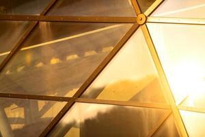 abstract beeld van een modern gebouw