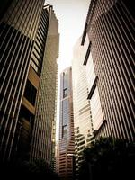 futuristisch financieel district 3 foto