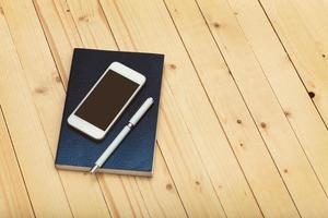smartphone mock-up sjabloon voor het bedrijfsleven foto