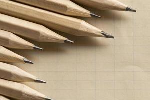 grafiet potloden foto