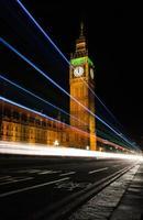 Big Ben om middernacht foto