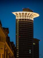 wolkenkrabber in Frankfurt, Duitsland foto