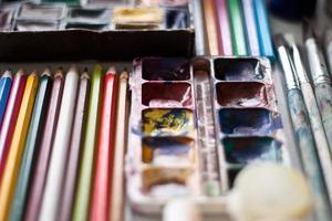items voor tekenen foto