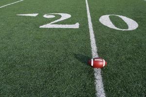 voetbal met de twintig