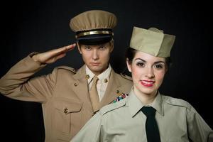WWI militair foto
