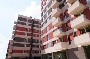 Appartements gebouwen foto