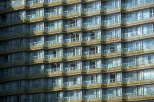 textuur van een gebouw buitenshuis foto