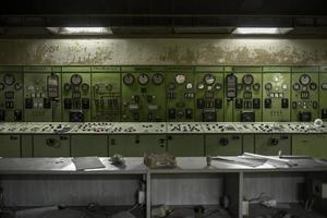 elektriciteitsdistributiehal in de metaalindustrie