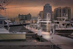 West Palm Beach skyline foto